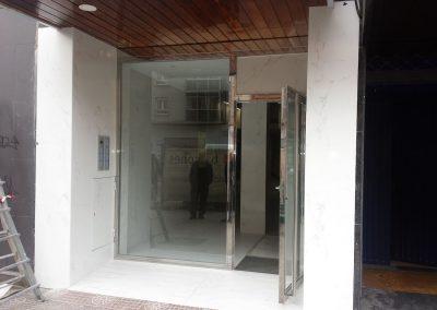 Puerta en Avenida del Cid 59-61